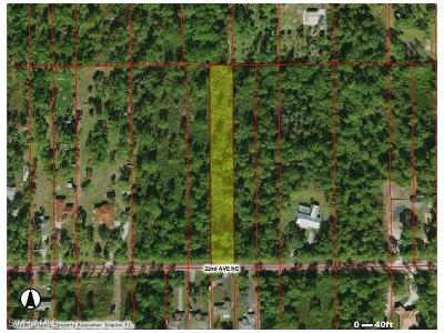 Collier County Residential Lots & Land For Sale: 22nd Ave NE