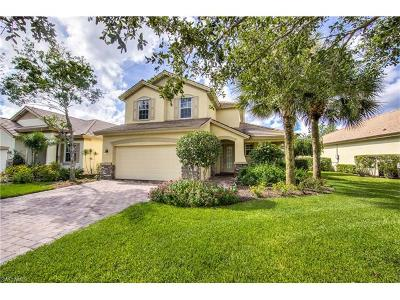 Fort Myers Single Family Home For Sale: 3701 Lakeview Isle Ct
