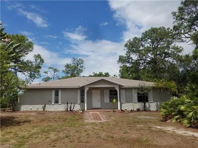Bonita Springs Single Family Home For Sale: 26521 Chaparel Dr