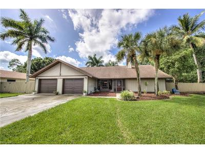 Fort Myers Single Family Home For Sale: 2133 Treehaven Cir S