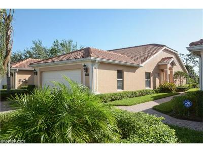 Naples Single Family Home For Sale: 15086 Cortona Way