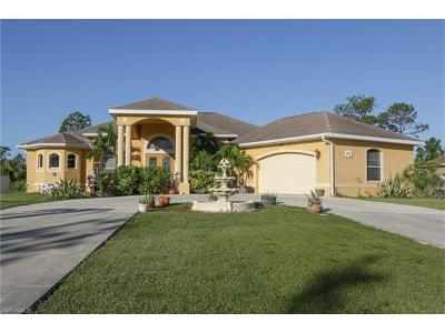 Lehigh Acres Single Family Home Pending With Contingencies: 611 Clayton Ave