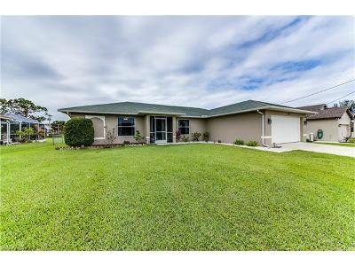 Cape Coral Single Family Home For Sale: 1618 SW 19th Ter