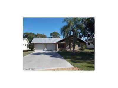 Single Family Home For Sale: 4552 Santiago Ln