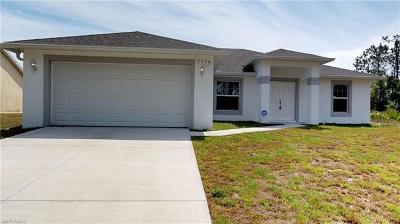 Lehigh Acres Single Family Home For Sale: 1116 Copley St E