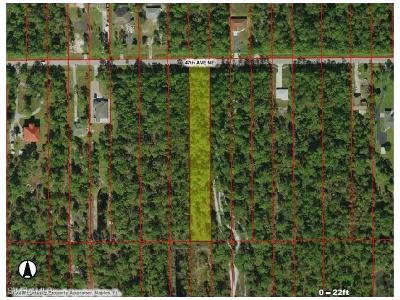 Collier County Residential Lots & Land For Sale: 47th Ave NE