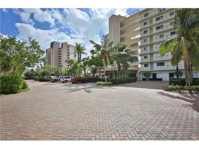Fort Myers Beach Condo/Townhouse Pending With Contingencies: 8350 Estero Blvd #414