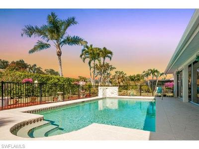 Naples Single Family Home Pending With Contingencies: 2243 Imperial Golf Course Blvd