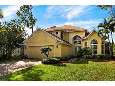 Naples Single Family Home Pending With Contingencies: 547 Carpenter Ct