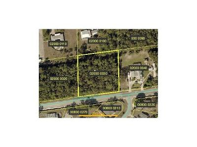 Bonita Springs Residential Lots & Land For Sale: 10351 Shangri-La Rd