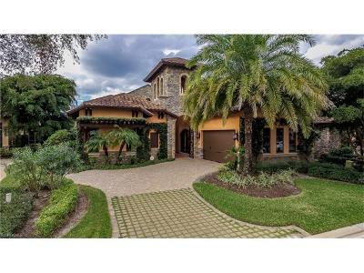 Naples FL Single Family Home For Sale: $2,145,000