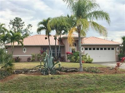 Bonita Springs Single Family Home For Sale: 10100 Strike Ln