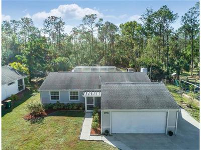 Naples Single Family Home For Sale: 5170 Coral Wood Dr