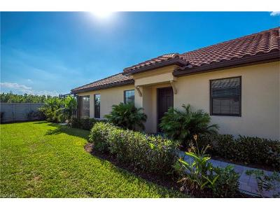 Naples Single Family Home For Sale: 8336 Lucello Ter N