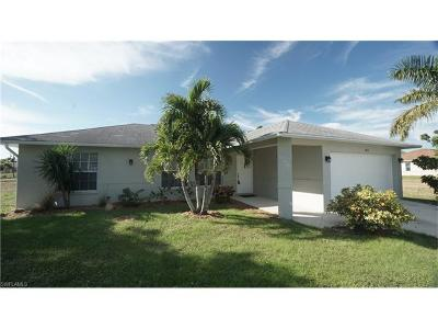 Cape Coral Single Family Home For Sale: 1814 NE 23rd Ave