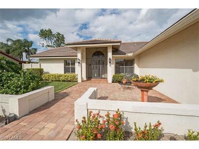 Bonita Springs Single Family Home For Sale: 9950 Ortega Ln