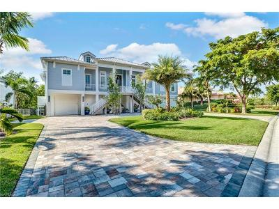 Naples FL Single Family Home For Sale: $3,100,000