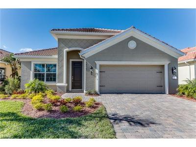 Collier County, Lee County Single Family Home For Sale: 14689 Sonoma Blvd