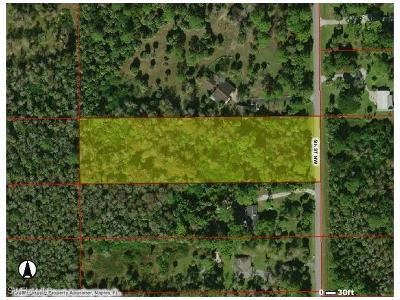 Naples Residential Lots & Land For Sale: 5th St NW