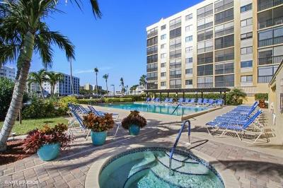 Fort Myers Beach Condo/Townhouse For Sale: 400 Lenell Rd #606