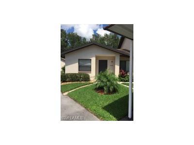 Bonita Springs Condo/Townhouse For Sale: 10131 Maddox Ln #101