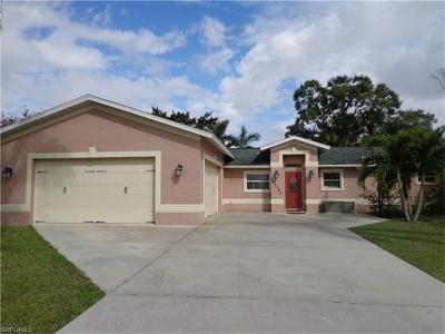Bonita Springs Single Family Home For Sale: 27404 Tennessee St