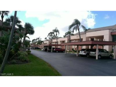 Fort Myers Condo/Townhouse Pending With Contingencies: 14670 Eagle Ridge Dr #136