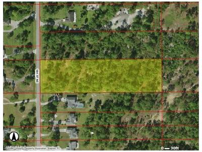 Naples Residential Lots & Land For Sale: 4520 12th St NE