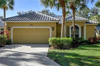 Bonita Springs Single Family Home For Sale: 3423 Wildwood Lake Cir