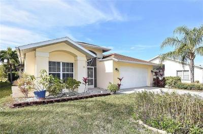 Fort Myers Single Family Home For Sale: 17790 Castle Harbor Dr