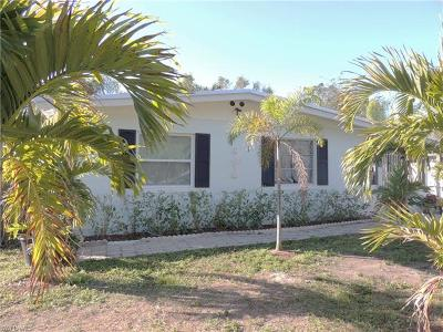 Fort Myers Single Family Home Pending With Contingencies: 5180 Richmond Ave