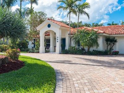 Naples FL Single Family Home For Sale: $1,950,000