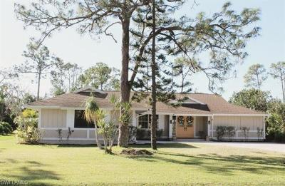 Fort Myers Single Family Home For Sale: 6117 Deer Run