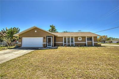 Cape Coral Single Family Home For Sale: 902 SE 29th Ter