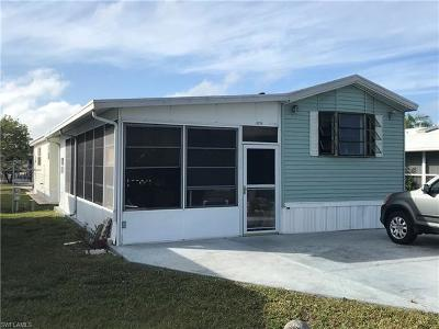Bonita Springs Single Family Home Pending With Contingencies: 3233 Locher Ln