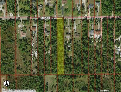 Naples Residential Lots & Land Pending With Contingencies: 8th Ave SE