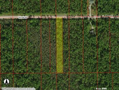 Collier County Residential Lots & Land For Sale: 2nd Ave SE