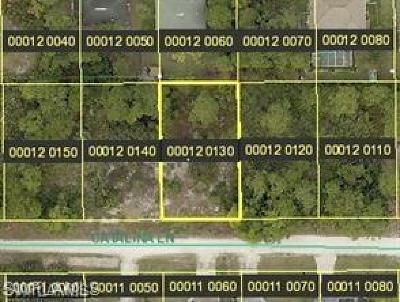 Bonita Springs Residential Lots & Land For Sale: 4626 Catalina Ln
