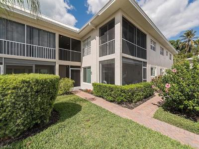 Naples Condo/Townhouse For Sale: 4170 Crayton Rd #C1