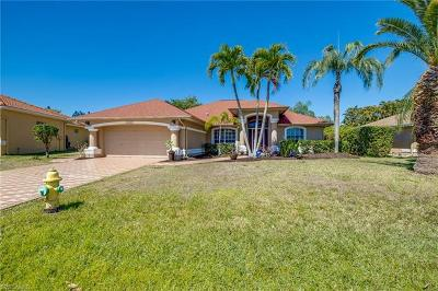 Estero Single Family Home Pending With Contingencies: 22444 Fountain Lakes Blvd