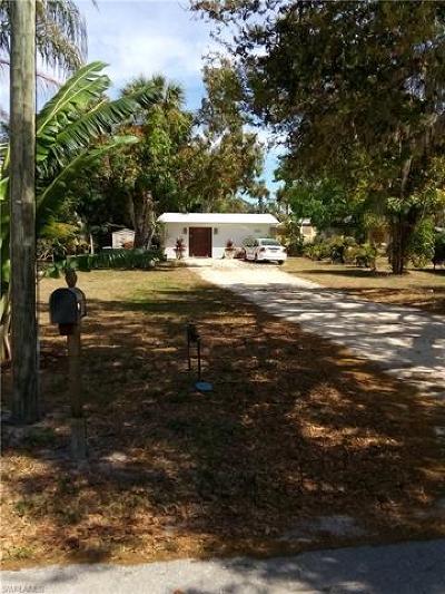 Bonita Springs Single Family Home Pending With Contingencies: 27271 Shriver Ave