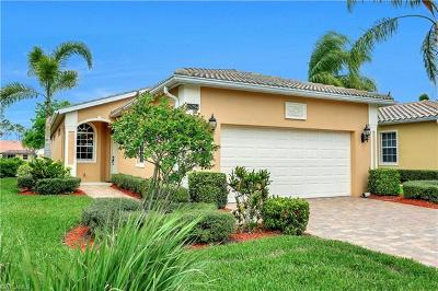 Naples Single Family Home For Sale: 15254 Cortona Way