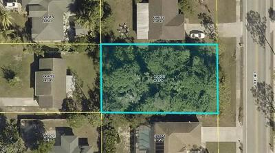 Fort Myers Residential Lots & Land Pending With Contingencies: 18278 Lee Rd