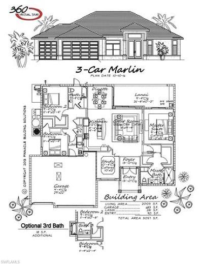 Cape Coral Single Family Home For Sale: 4228 NW 33rd Ln