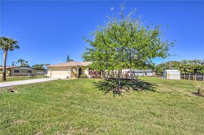 Fort Myers Single Family Home For Sale: 18507 Evergreen Rd