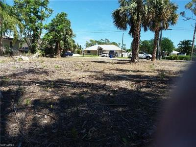 Bonita Springs Residential Lots & Land For Sale: 27140 Williams Rd