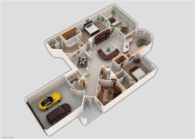 Estero Condo/Townhouse For Sale: 21573 Baccarat Ln #101