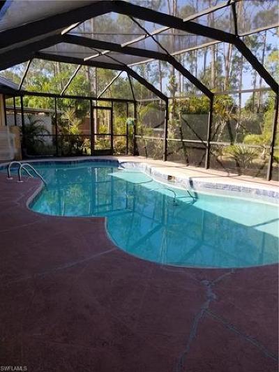 Bonita Springs Single Family Home For Sale: 25230 Pinson Dr