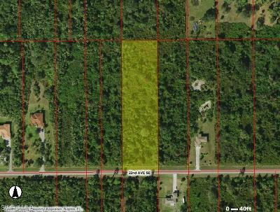 Naples Residential Lots & Land For Sale: 3425 22nd Ave SE