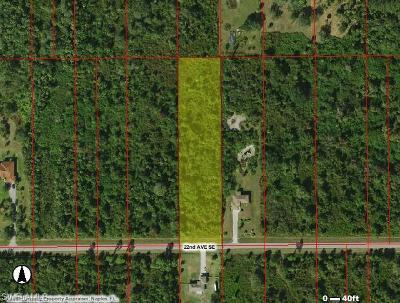 Naples Residential Lots & Land For Sale: 22nd Ave SE